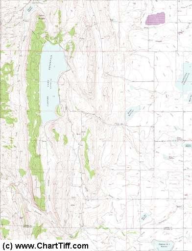 ChartTiff Geo Collarless / Seamless USGS Topo Topographic Maps