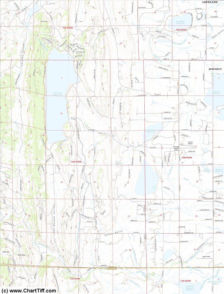 ChartTiff NextGen Geo (GeoPDF to Geotiff) Collarless / Seamless USGS Topo Topographic Maps